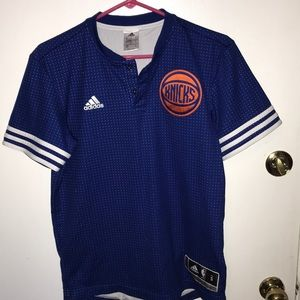 Adidas Authentic climacool New York Knick's shirt.
